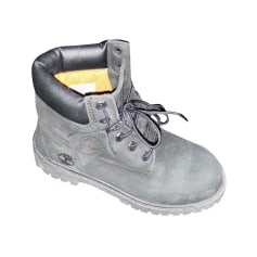 Flat Ankle Boots Timberland Bottes
