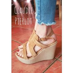 Sandales compensées Claudie Pierlot  pas cher