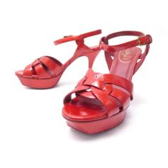 Sandali piatti Yves Saint Laurent