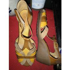 Sandales compensées Pataugas  pas cher