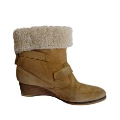 Bottines & low boots à compensés Athé Vanessa Bruno  pas cher