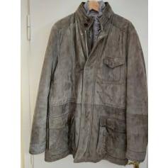 Manteau en cuir Ermenegildo Zegna  pas cher