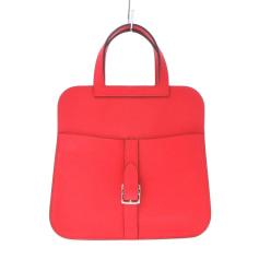 Lederhandtasche Hermès