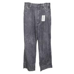 Jeans droit Balenciaga  pas cher
