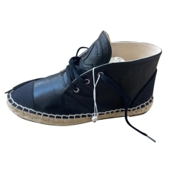 Chaussures à lacets  Chanel Espadrille pas cher