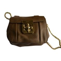 Leather Shoulder Bag Chloé Elsie
