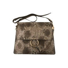 Lederhandtasche Chloé Faye