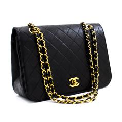 Schultertasche Leder Chanel