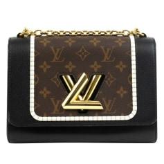 Schultertasche Leder Louis Vuitton Twist