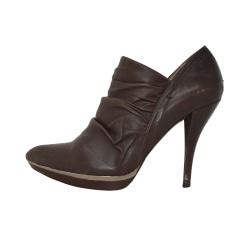 Bottines & low boots à talons Pura Lopez  pas cher