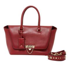 Lederhandtasche Valentino Rockstud