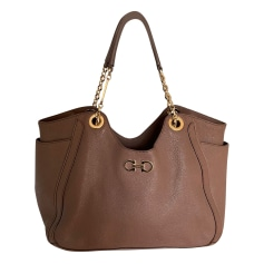 Leather Handbag Salvatore Ferragamo