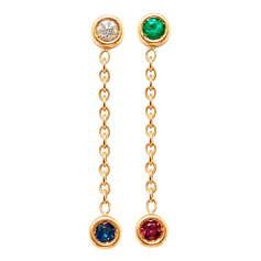 Earrings Dior Oui