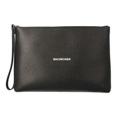 Leather Clutch Balenciaga