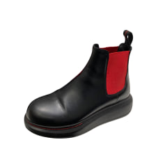 Flat Ankle Boots Alexander McQueen