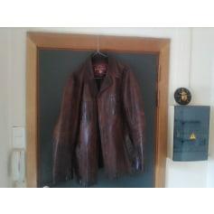 Leather Zipped Jacket Marlboro Classics