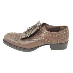 Lace Up Shoes Miu Miu