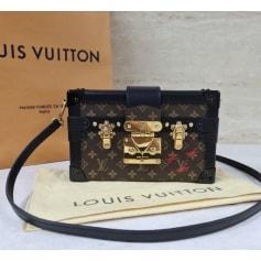 Sac en bandoulière en cuir Louis Vuitton Petite Malle pas cher