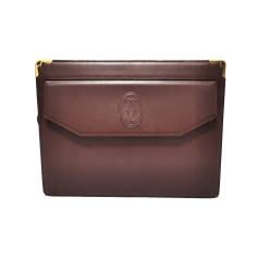 Handtasche Leder Cartier