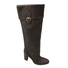 High Heel Boots Fendi