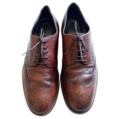Chaussures à boucles A. Testoni  pas cher