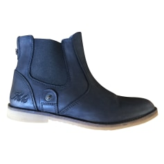 Bottines & low boots plates Ikks  pas cher