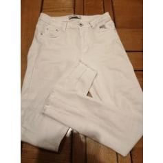 Jeans slim shiny design  pas cher