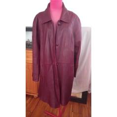 Manteau en cuir Barisal  pas cher