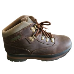 Bottines & low boots plates Timberland  pas cher