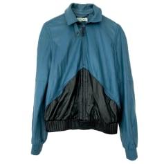 Leather Zipped Jacket Kenzo