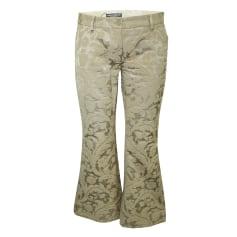 Straight Leg Pants Dolce & Gabbana