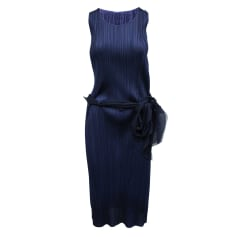 Robe courte Pleats Please by Issey Miyake  pas cher