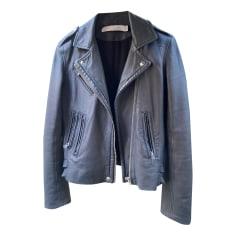 Leather Zipped Jacket Iro