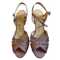 Heeled Sandals Petite Mendigote