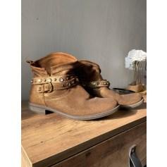 Bottines & low boots plates Tamaris  pas cher