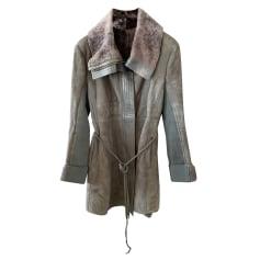 Leather Coat Patrizia Pepe