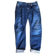 Wide Leg Jeans, Boyfriend Jeans High
