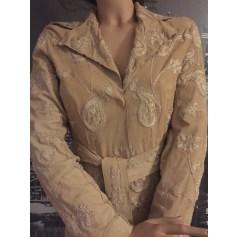 Manteau en cuir Dolce & Gabbana  pas cher