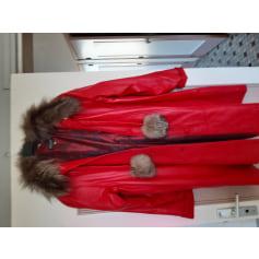 Manteau en cuir ROSA PIEL  pas cher