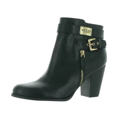 Bottines & low boots motards Guess  pas cher