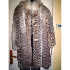 Manteau en fourrure CLAUDE GILBERT PARIS  pas cher
