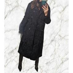 Manteau en fourrure hieber boutique  pas cher