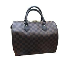 Schultertasche Stoff Louis Vuitton Speedy