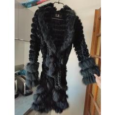 Manteau en fourrure Catch Glamour  pas cher
