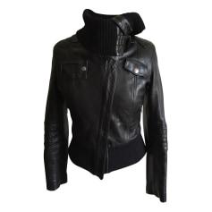 Leather Zipped Jacket VENTCOUVERT