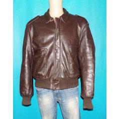 Leather Zipped Jacket Schott