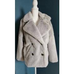 Manteau en fourrure Lauren Vidal  pas cher