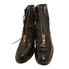 Bottines & low boots plates Sandro  pas cher