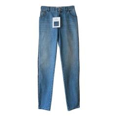 Jeans droit Chanel  pas cher