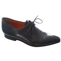 Lace Up Shoes Santoni